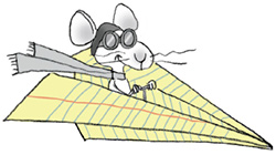 Mouse In Plane