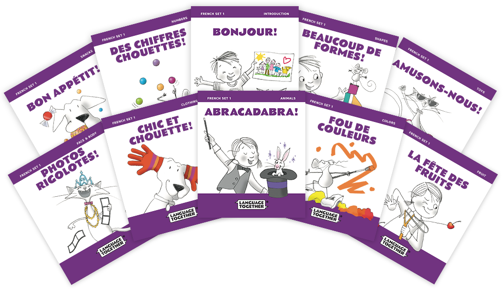 French for Kids - Beginner Reader Books with Audio