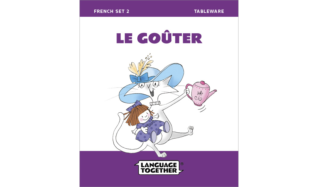 Set2 French For Kids Books 1